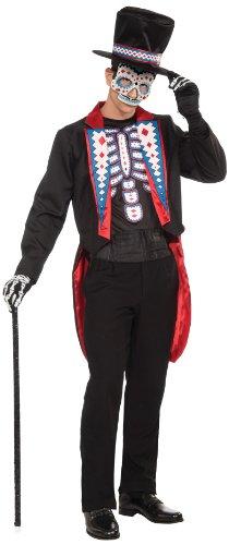 Forum Novelties AC615 Tag der Toten Frack Kostüm