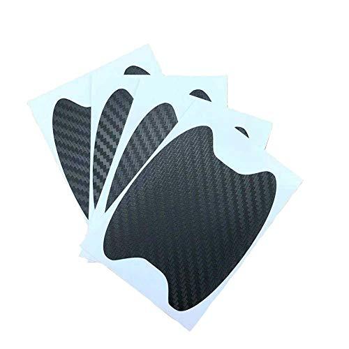 Preisvergleich Produktbild 4Pcs / Lot Universalauto-Türgriff Scratches Automobil-Shakes Protective Vinyl Schutzfolien Auto Griff Schutz (Color : Black)