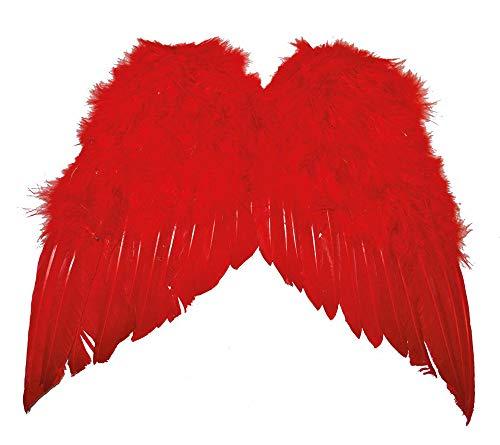 Das Kostümland Engelsflügel 35 x 34 cm - Rot