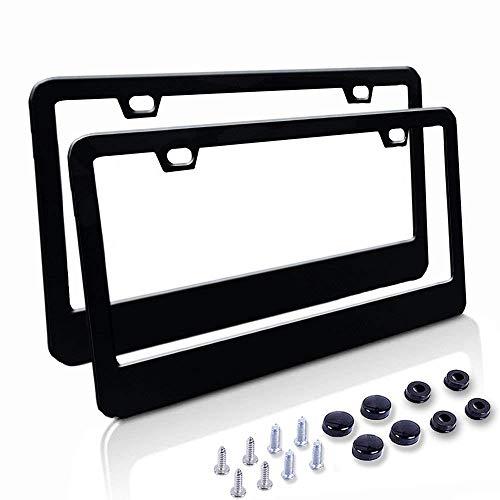 license plate frame matte - 7