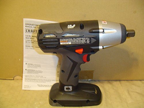 Craftsman 19.2v C3 1/2' Impact Wrench (Bulk Packaged. Battery and Charger Not Included)