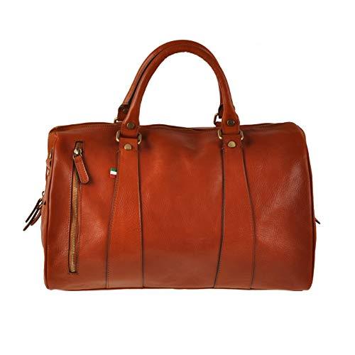ORE 10 - Bolso de viaje de piel, diseño vintage