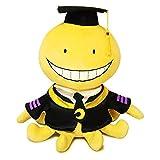 Cuecutie Anime Koro Sensei Plush Classroom Character Octopus Plushie Toy Doll Stuffed Funny Yellow Cartoon Throw Pillow Collection(12')