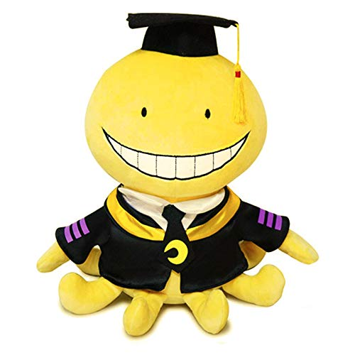 """Cuecutie Anime Plush Classroom Character Plushie Toy Doll Stuffed Funny Yellow Cartoon Throw Pillow Collection(12"""")"""
