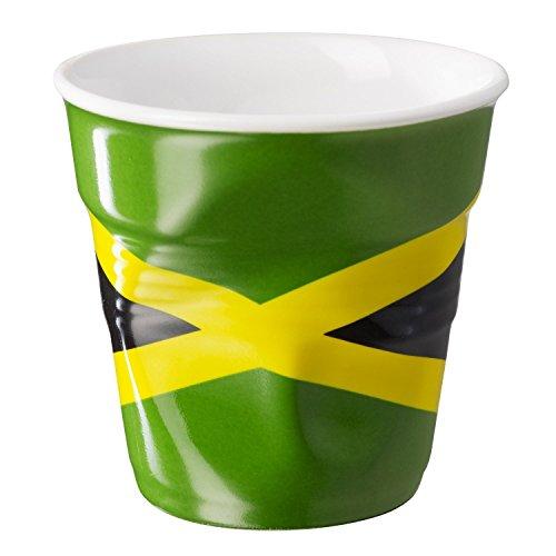 GOBELET REVOL FROISSE DRAPEAU DE LA JAMAIQUE 8 CL