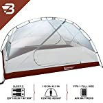 Bessport Camping Tent 2 and 3 Person, Easy & Quick Setup Lightweight Two Doors Backpacking Tent - Waterproof Anti-UV…