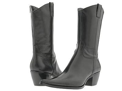 STEVEN NEW YORK Jacee (Black Leather) Women