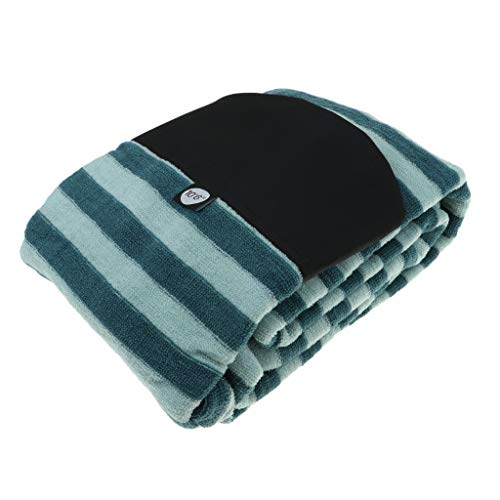 FLAMEER Premium Surf Stretchy Surfboard Socke Schutzhülle Boardbag - Rund-Spitze, 9.0ft