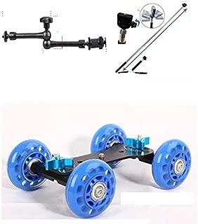 スケートドリー + フレキシブル マジックアーム 11インチ +スティックカメラ撮影 移動車 スライダー 3点セット Wチェック検品+PL保険加入済みで安心して使用できます。