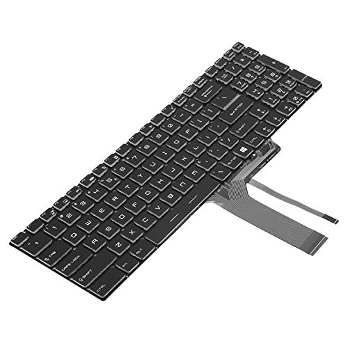 Practical Backlit Keyboard Simple Keyboard Keyboard Replacement Comfortable Convenient Reliable Colorful Keyboard Fast for Computer for PC for Notebook