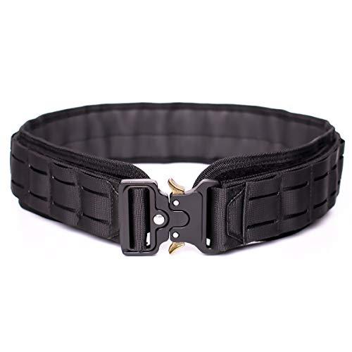 POYOLEE Gun Belt, Military Nylon Battle Belts for Men, Heavy...