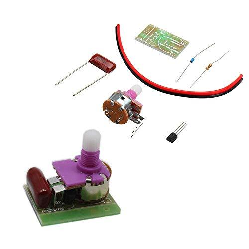 KANJJ-YU part 10pcs Electronic Switch Module Kit DIY Silicon Controlled Switch Dimmer Lamp Kit DIY kit 3D