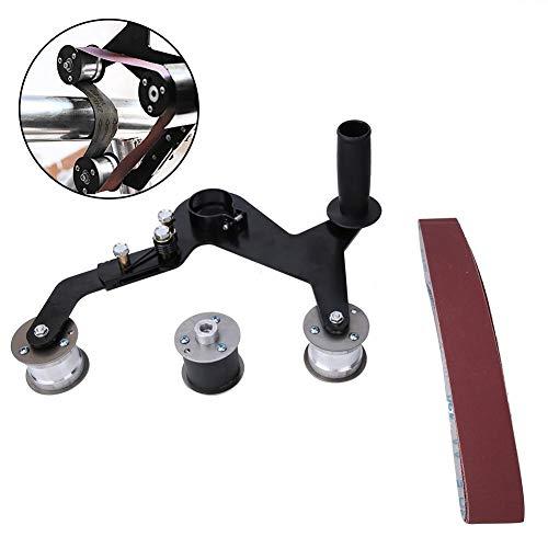 Tragbare Schleifmaschinen-Poliermaschine, tragbare Griff-Rundrohr-Bandschleifer-Polierer-Schleifpoliermaschine für Edelstahl