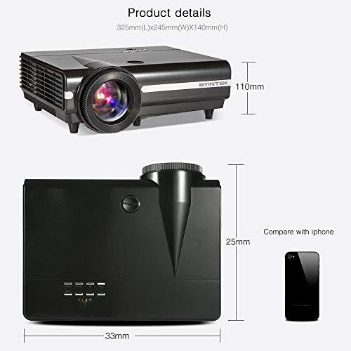 Ouqian-OP Proyector LCD proyector Smart 1280x800P Soporte Full HD ...