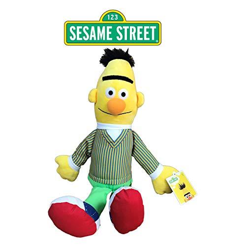 SESAMSTREET Sesame Street - Barrio Sesamo Peluche Blas (Amarillo) 28cm Sentado y 40cm de pie - Calidad Super Soft