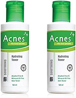 Acnes Soothing Hydrating Toner, 120ml (Pack of 2)