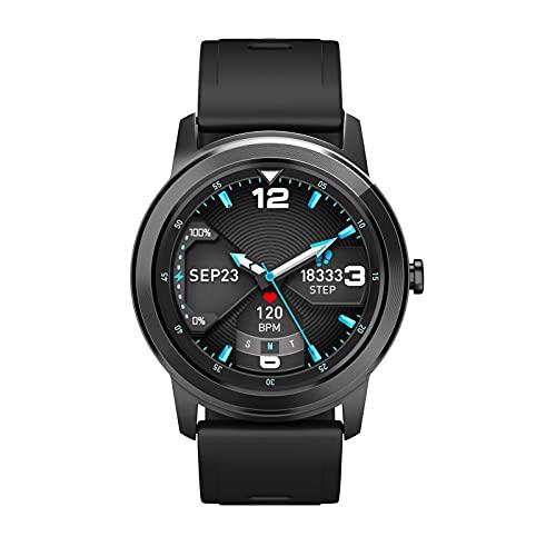 K-Park Reloj inteligente para hombres Q669 Smartwatch IP67 impermeable Rastreador de actividad Fitness Tracker reloj corazón Monitor para hombres mujeres utilidad