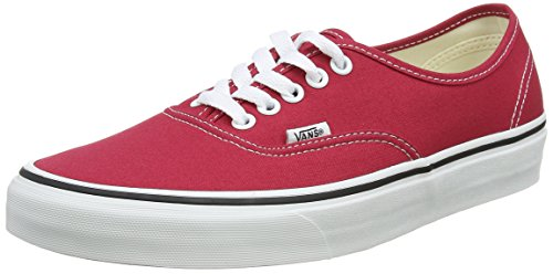 Vans Authentic, Sneaker Unisex-Adulto, Rosso (Crimson/True White Q9u), 40 EU