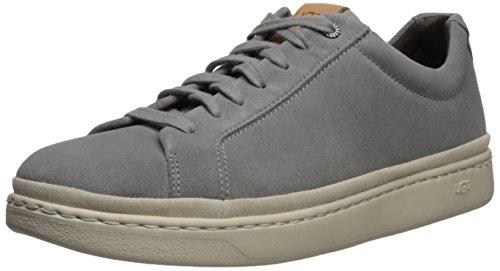 UGG Australia Brecken Lace Low Sneakers voor heren, grijs
