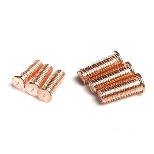 Kupferbeschichtung, Schweißschrauben, Schweißschrauben, Punktschweißschrauben, Arten von Schweißnägeln, Kupferbeschichtungsbefestigungen-M8 * 35 * 5