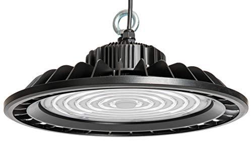 illumitec LED UFO Hallen Strahler 90° ultrahell 200W 26.000 lm sparsam 130 lm/W Tageslicht Weiß 845 4500K SAMSUNG LED IP65 für Innen- und Aussenbereich Industrie Beleuchtung Leuchte High Bay Licht