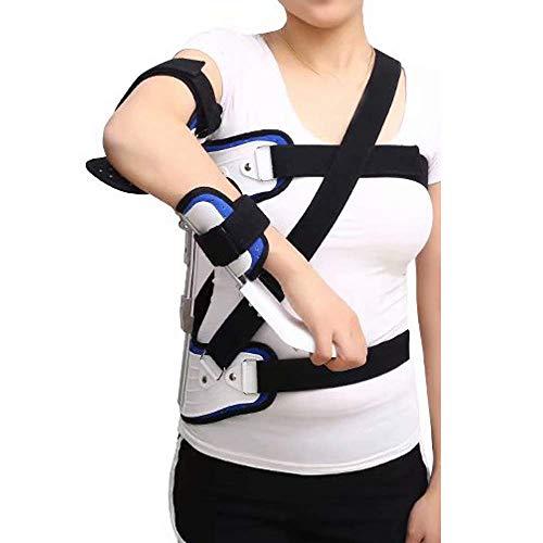 XJZHAN Schulter-Dislokations-Klammer Arm-Abduktionsgurt-Klammer Feste UnterstützungEinstellbares, atmungsaktives Schulter-Abduktionskissen
