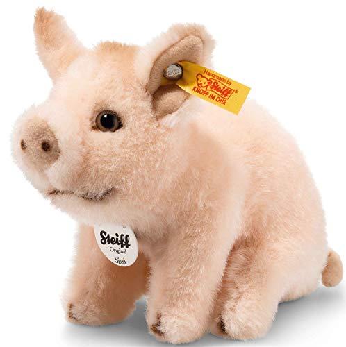 Steiff 071898 Sissi 15 rosa sitzend Schwein
