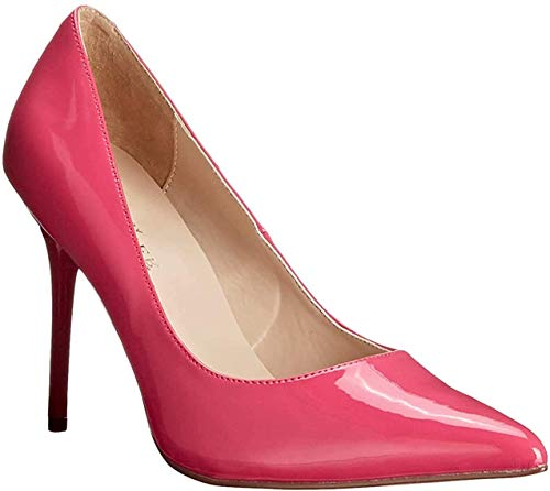 Pleaser Classique 20 Damen Pumps, Pink (H Pink Pat), 45 EU (12 UK)