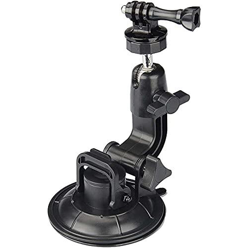 Yuyanshop Soporte para cámara de salpicadero, grabadora de vídeo de coche, soporte de ventosa compatible con GoPro Hero 9/8/7/6