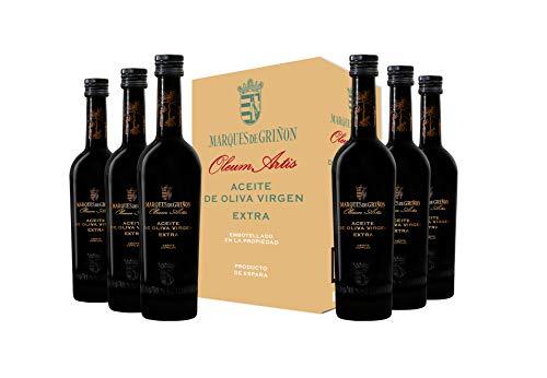 Marqués de Griñón Aceite De Oliva Virgen Extra Olevm Artis Pack de 6 botellas x 500 ml