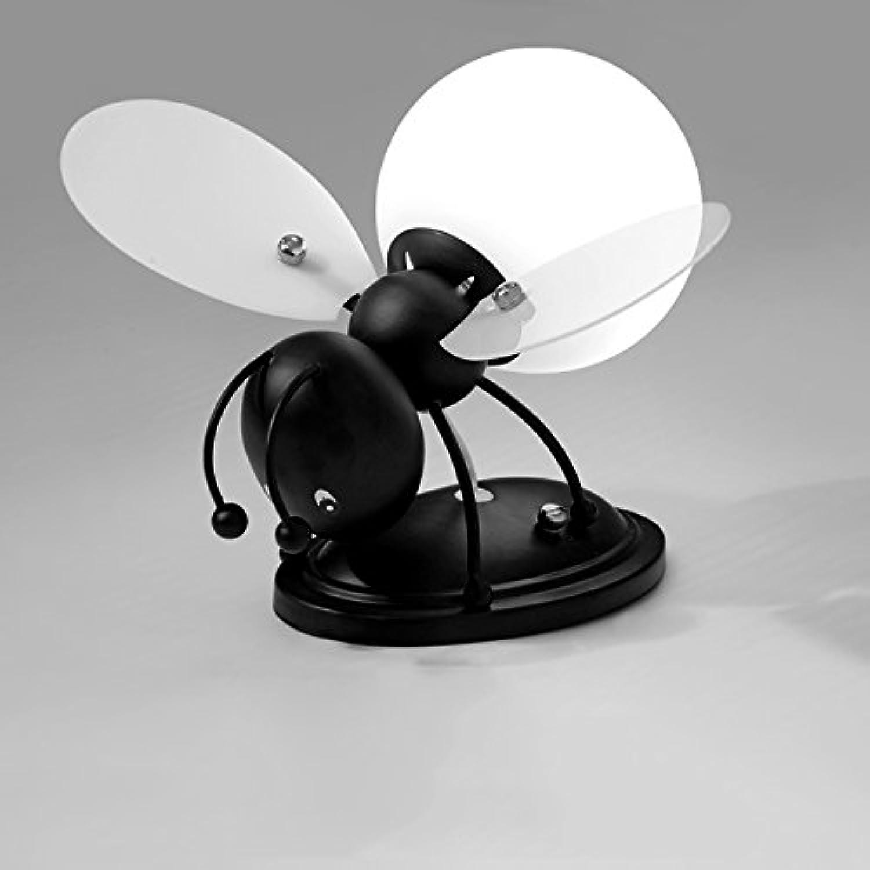 MEILING Kreativ Kinderzimmer Cartoon Junge Mdchen Nachttisch Lampe LED Cartoon Lichter Biene (Farbe   Wei)