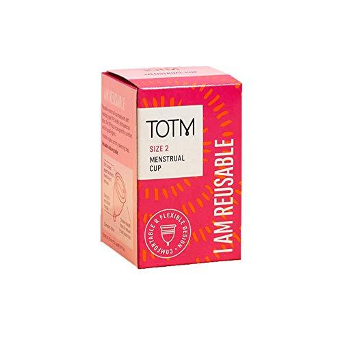 Copa menstrual TOTM, tamaño 2