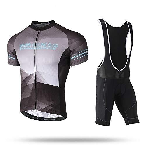 Micye Wicking Quick Dry Herren-Fahrradbekleidung Verwendung von Italienischer Premium-Tinte Nicht verblassen Komfortable Fahrradbekleidung Atmungsaktives, eng anliegendes MTB-Fahrradbekleidungsset