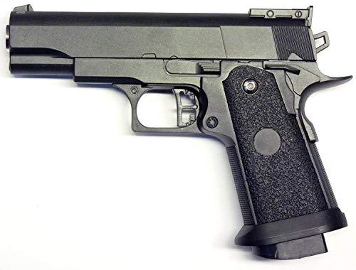 Nerd Clear Vollmetall Sport Softair-Pistole Schwer G-10 ABS ca. 12 cm lang 6 mm unter 0,5 Joule ab 14 Jahre