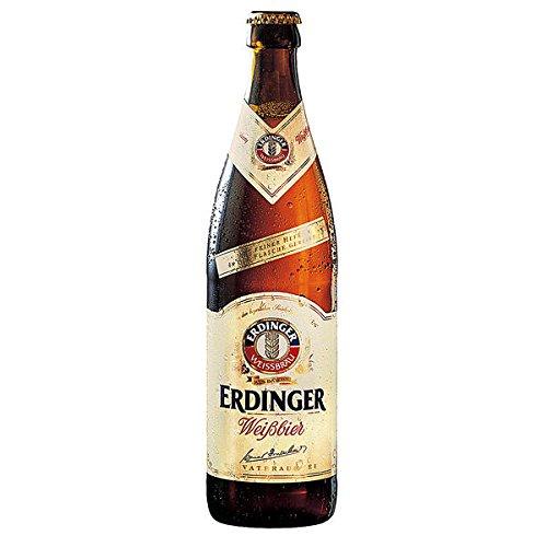 Erdinger Hefeweizen cerveza de trigo naturalmente turbia MULTI-WAY (20 x 0,5 l)
