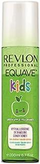 Equave Kids - Green Apple Fragrance - Acondicionador hipoalergénico desenredante para niños - 200 ml, 1 unidad