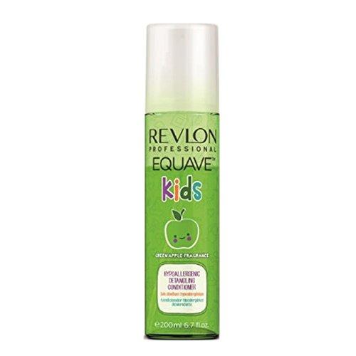 Equave Kids - Green Apple Fragrance - Acondicionador hipoalergénico desenredante para niños...