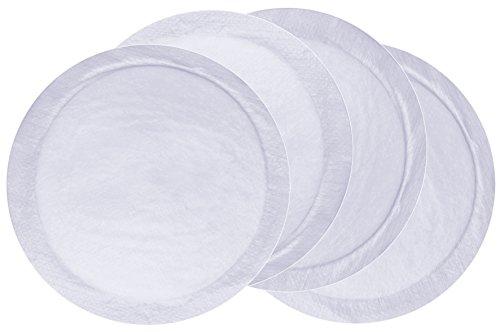 MAM zelfklevende borstcompressen, ademend zoogcompres voor de borsten met een extra absorberende kern, deze pads absorberen overtollige moedermelk veilig, 30 stuks