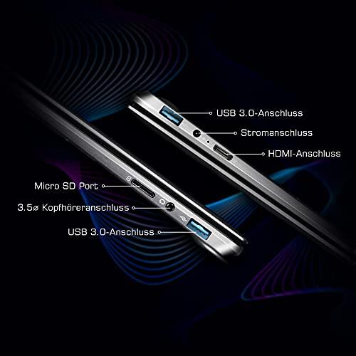 LincPlus 13.3″ FHD Laptop Neueste Intel Celeron 4GB 32GB Bis zu 512 GB Bild 2*