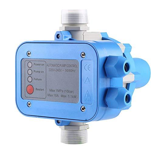 QWERTOUY Automatische waterpomp controller tool vervanging 110 of 220 V ABS waterdichte drukbesturing elektronische schakelaar Professional Home