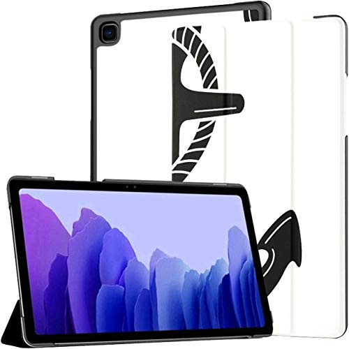 Art Anchor Icon Symbolic Galaxy Tab A7 Funda Galaxy Tab A7 10.4 Pulgadas Samsung Galaxy Tab A Funda Samsung Galaxy Tab A7 10.4 Funda con activación/suspensión automática Fundas S
