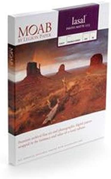 Moab Lasal Photo Matte 235gsm Inkjet Paper 8 5x11 Quot 250 Sheets