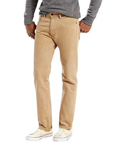 Levi's 501 Original Fit Jeans Vaqueros, Timberwolf, 36W / 30L para Hombre
