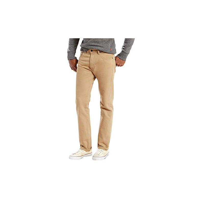 Levis 501 Original Fit Timberwolf Jeans Herren Gr. 38W x 34L, Timberwolf
