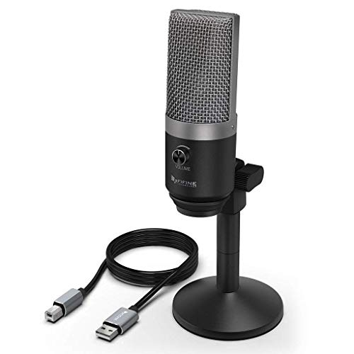FIFINE USB Microphone, Microphone PC pour...