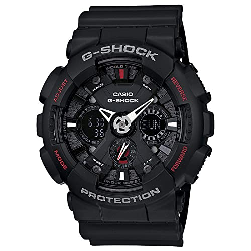 Casio G-Shock Analog-Digital Black Dial Men's Watch-GA-120-1ADR (G346)