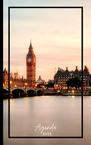 AGENDA 2021: Agenda 'Londres'. Semainier. Calendrier annuel,...