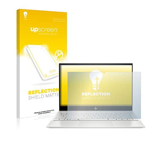 upscreen Entspiegelungs-Schutzfolie kompatibel mit HP Envy 13-aq1176ng – Anti-Reflex Bildschirmschutz-Folie Matt