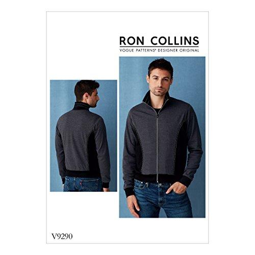 Vogue V9290 Schnittmuster für Herbst- und Winterjacke von Ron Collins, Größen 40-46