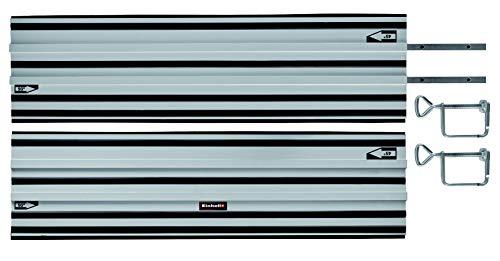 Original Einhell Führungsschiene Alu (passend für alle Einhell Akku-Handkreissägen und Einhell Expert-Handkreissägen, 2 x 1000 mm, für Schnitte von 45° bis 90°)